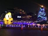 29年12月3駅のイルミネーション③.JPG